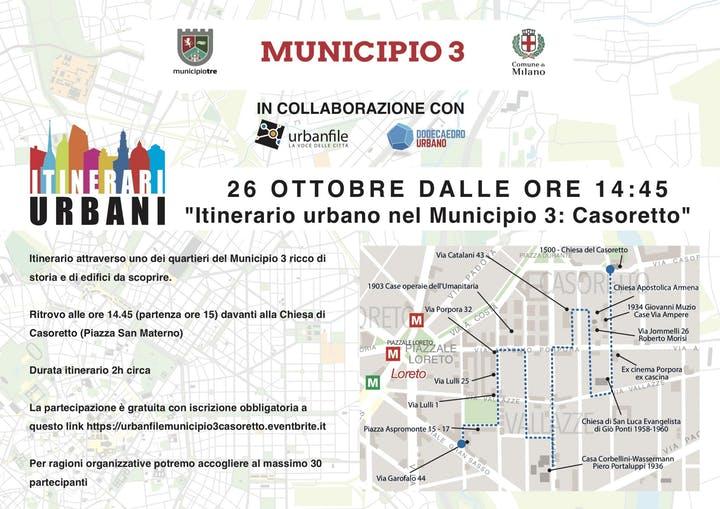 Itinerari Urbani Casoretto