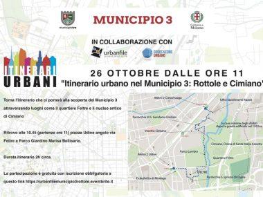 Itinerari Urbani Rottole e Cimiano